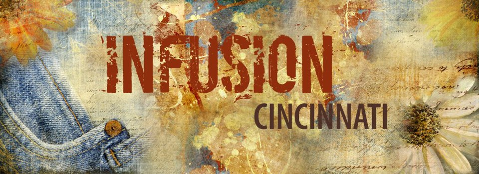 Infusion Cincinnati is a free community event. Every 2nd Tuesday 6:30-8pm at Rohs Street Café in Clifton. Music + Talk + Conversation